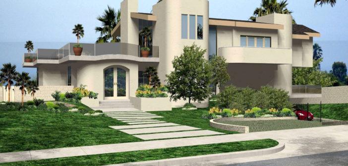 Изображение - Как выписаться из дома dizajn-kusty-doma-kalifornia-osobnak-landsaft-malibu-702x336